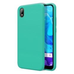 Funda Silicona Líquida Ultra Suave para Huawei Y5 2019 color Verde