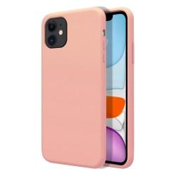 Funda Silicona Líquida Ultra Suave para Iphone 11 Pro (5.8) color Rosa