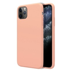 Funda Silicona Líquida Ultra Suave para Iphone 11 Pro Max (6.5) color Rosa