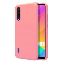 Funda Silicona Líquida Ultra Suave para Xiaomi Mi 9 Lite color Rosa