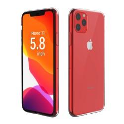 Funda Gel Tpu Fina Ultra-Thin 0,5mm Transparente para Iphone 11 Pro (5.8)