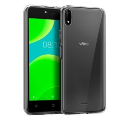 Funda Gel Tpu Fina Ultra-Thin 0,5mm Transparente para Wiko Y50