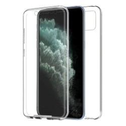 Funda Completa Transparente Pc + Tpu Full Body 360 para Iphone 11 Pro Max (6.5)