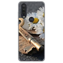 Funda Gel Tpu para Motorola One Action diseño Dream Dibujos