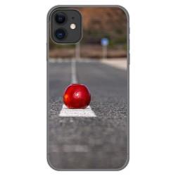 Funda Gel Tpu para Iphone 11 (6.1) diseño Apple Dibujos