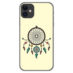 Funda Gel Tpu para Iphone 11 (6.1) diseño Atrapasueños Dibujos