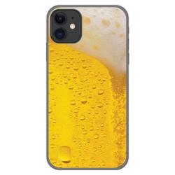 Funda Gel Tpu para Iphone 11 (6.1) diseño Cerveza Dibujos
