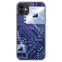 Funda Gel Tpu para Iphone 11 (6.1) diseño Circuito Dibujos