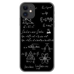 Funda Gel Tpu para Iphone 11 (6.1) diseño Formulas Dibujos