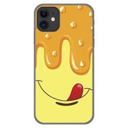 Funda Gel Tpu para Iphone 11 (6.1) diseño Helado Vainilla Dibujos