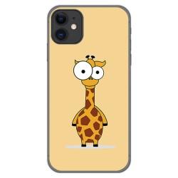 Funda Gel Tpu para Iphone 11 (6.1) diseño Jirafa Dibujos