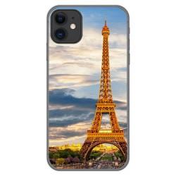 Funda Gel Tpu para Iphone 11 (6.1) diseño Paris Dibujos
