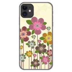 Funda Gel Tpu para Iphone 11 (6.1) diseño Primavera En Flor Dibujos