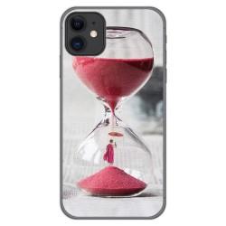 Funda Gel Tpu para Iphone 11 (6.1) diseño Reloj Dibujos