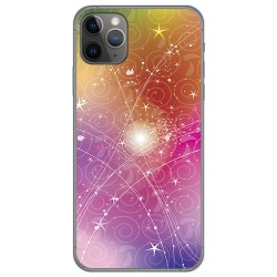 Funda Gel Tpu para Iphone 11 Pro (5.8) diseño Abstracto Dibujos