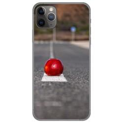 Funda Gel Tpu para Iphone 11 Pro (5.8) diseño Apple Dibujos