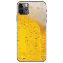 Funda Gel Tpu para Iphone 11 Pro (5.8) diseño Cerveza Dibujos