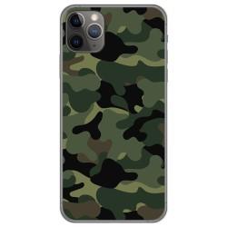 Funda Gel Tpu para Iphone 11 Pro (5.8) diseño Camuflaje Dibujos
