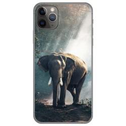 Funda Gel Tpu para Iphone 11 Pro (5.8) diseño Elefante Dibujos
