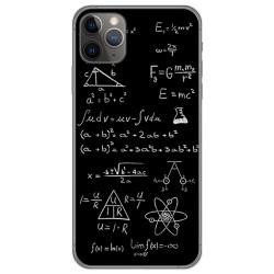 Funda Gel Tpu para Iphone 11 Pro (5.8) diseño Formulas Dibujos