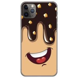 Funda Gel Tpu para Iphone 11 Pro (5.8) diseño Helado Chocolate Dibujos