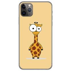 Funda Gel Tpu para Iphone 11 Pro (5.8) diseño Jirafa Dibujos