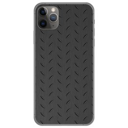 Funda Gel Tpu para Iphone 11 Pro (5.8) diseño Metal Dibujos