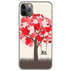 Funda Gel Tpu para Iphone 11 Pro (5.8) diseño Pajaritos Dibujos