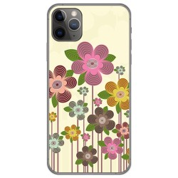 Funda Gel Tpu para Iphone 11 Pro (5.8) diseño Primavera En Flor Dibujos