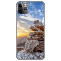 Funda Gel Tpu para Iphone 11 Pro (5.8) diseño Sunset Dibujos