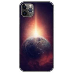 Funda Gel Tpu para Iphone 11 Pro (5.8) diseño Tierra Dibujos
