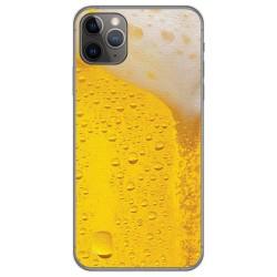 Funda Gel Tpu para Iphone 11 Pro Max (6.5) diseño Cerveza Dibujos