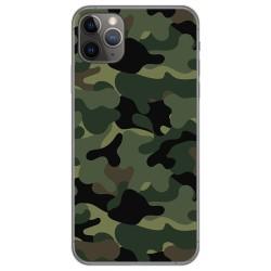 Funda Gel Tpu para Iphone 11 Pro Max (6.5) diseño Camuflaje Dibujos