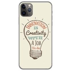 Funda Gel Tpu para Iphone 11 Pro Max (6.5) diseño Creativity Dibujos