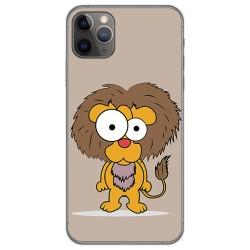 Funda Gel Tpu para Iphone 11 Pro Max (6.5) diseño Leon Dibujos