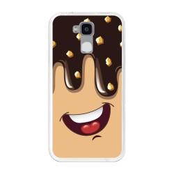 Funda Gel Tpu para Doogee Y6 / Y6C Diseño Helado Chocolate Dibujos