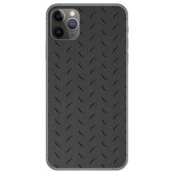 Funda Gel Tpu para Iphone 11 Pro Max (6.5) diseño Metal Dibujos
