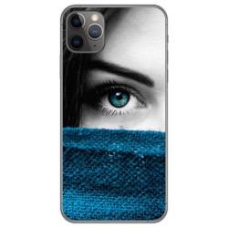 Funda Gel Tpu para Iphone 11 Pro Max (6.5) diseño Ojo Dibujos