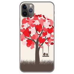 Funda Gel Tpu para Iphone 11 Pro Max (6.5) diseño Pajaritos Dibujos