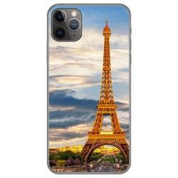 Funda Gel Tpu para Iphone 11 Pro Max (6.5) diseño Paris Dibujos