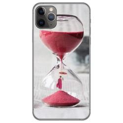 Funda Gel Tpu para Iphone 11 Pro Max (6.5) diseño Reloj Dibujos