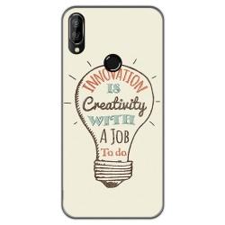 Funda Gel Tpu para Oukitel C16 Pro diseño Creativity Dibujos