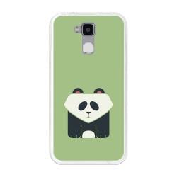 Funda Gel Tpu para Doogee Y6 / Y6C Diseño Panda Dibujos