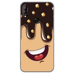 Funda Gel Tpu para Oukitel C16 Pro diseño Helado Chocolate Dibujos
