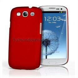 Carcasa Dura Samsung Galaxy S3 I9300 / S3 Neo I9301 Color Roja