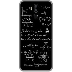 Funda Gel Tpu para Oukitel K9 diseño Formulas Dibujos