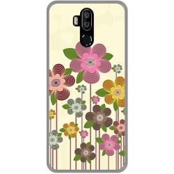 Funda Gel Tpu para Oukitel K9 diseño Primavera En Flor Dibujos