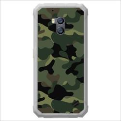 Funda Gel Tpu para Ulefone Armor X2 diseño Camuflaje Dibujos