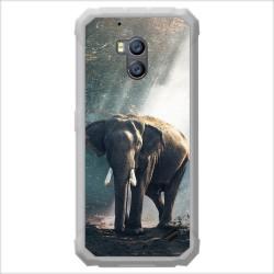 Funda Gel Tpu para Ulefone Armor X2 diseño Elefante Dibujos