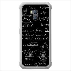 Funda Gel Tpu para Ulefone Armor X2 diseño Formulas Dibujos